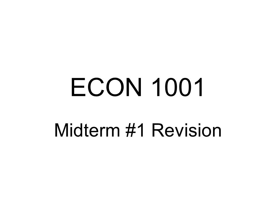 econ 151a midterm 1 Undergraduate courses mwf 12-1 class #: 39660 : 151a: early modern britain there will be: one midterm examination.