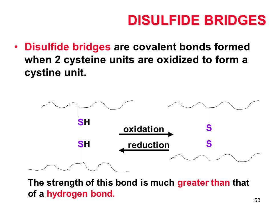 how to break disulfide bonds