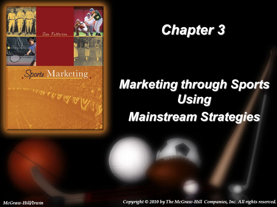 Marketing through Sports Using Mainstream Strategies