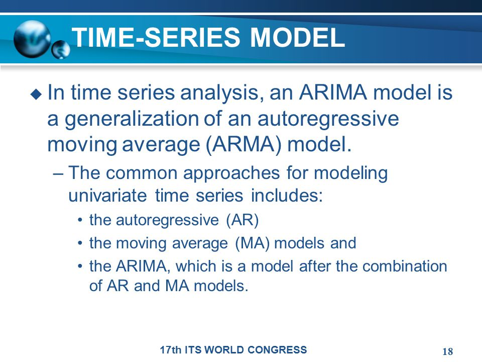 time series thesis The b-theory of time is the name given to one of it is popularly assumed that the a theory represents time like an a-series the thesis that contrary to.