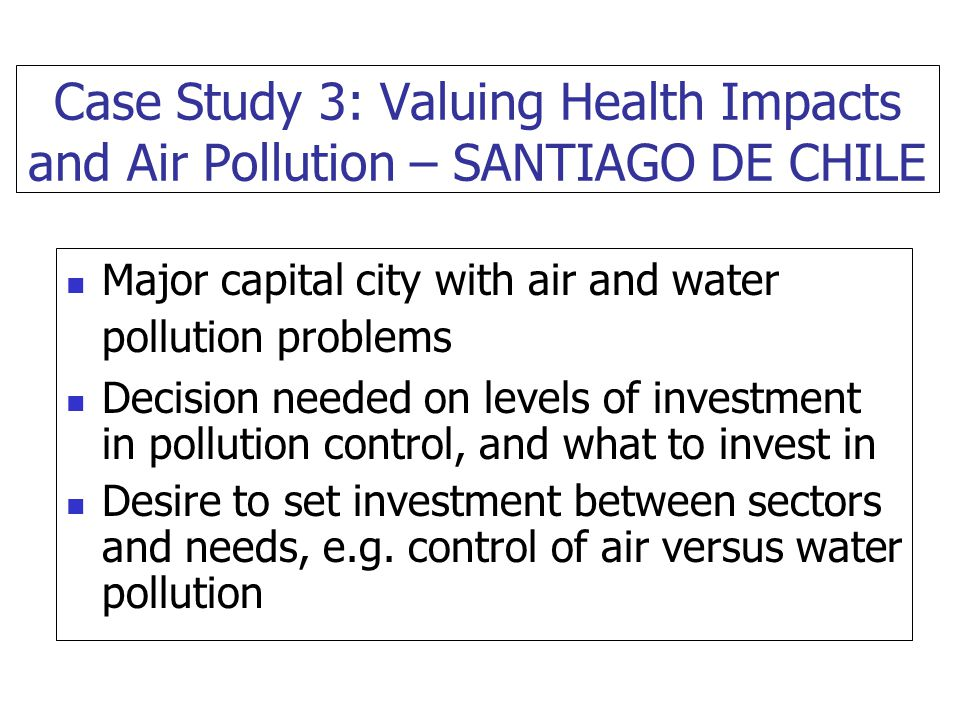 recent case studies on air pollution Unesco – eolss sample chapters environmental toxicology and human health – vol i - case study of air pollution episodes in meuse valley of belgium, donora of pennsylvania, and london, uk - kagawa, jun.