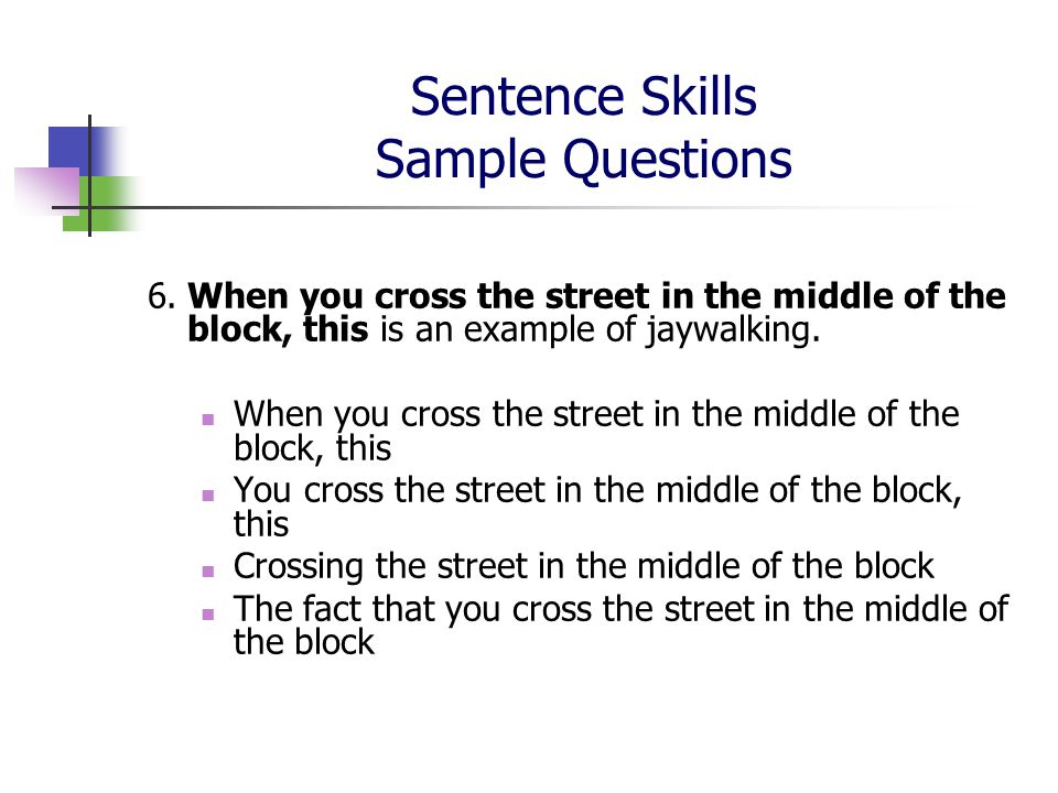 sentence skills Free accuplacer sentence skills practice problem - accuplacer sentence skills problem set 1 includes score reports and progress tracking create a free account.