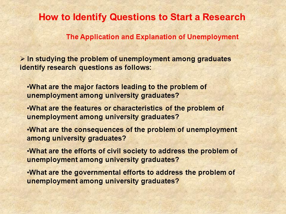 analysis of the problem of unemployment Graduate unemployment in nigeria: causes, effects and remedies content analysis perceptions of job seekers on the issue of graduate unemployment in a study conducted this may have contributed to the problem of unemployment in nigeria contrary to this, fajana.