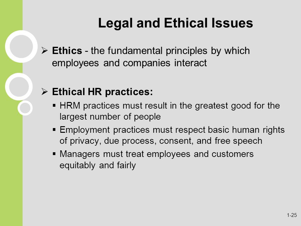 ethical dilemmas in hr practices Ethical dilemmas in hr managements human resources are the important resources of an organization if an organization doesn't have this, for sure it would not be.