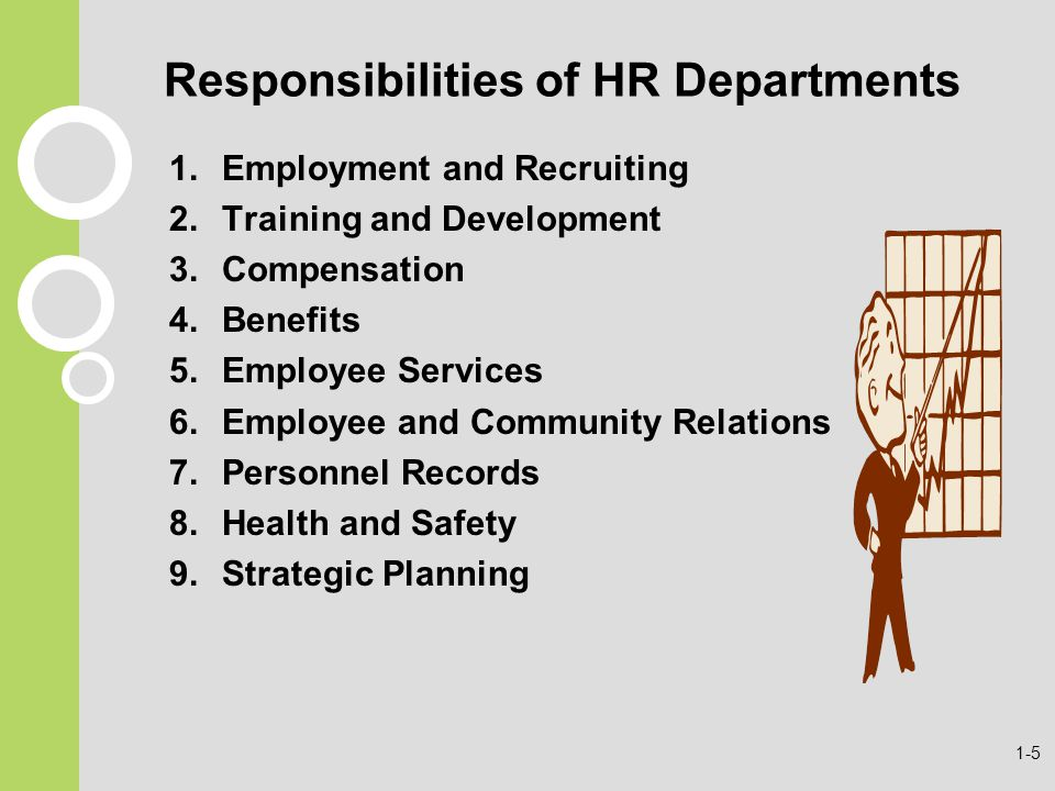 functions responsibilities of hr This article is a quick overview of the numerous tasks, responsibilities and  demands that hr professionals may have to deal with.
