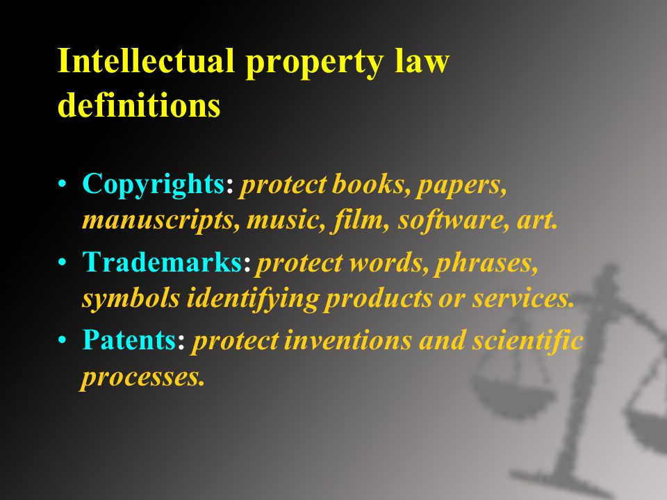 essay on protecting intellectual property rights This essay will consider the topic of how adequately intellectual property rights  protect the position of the creator, with whom those rights may reside.