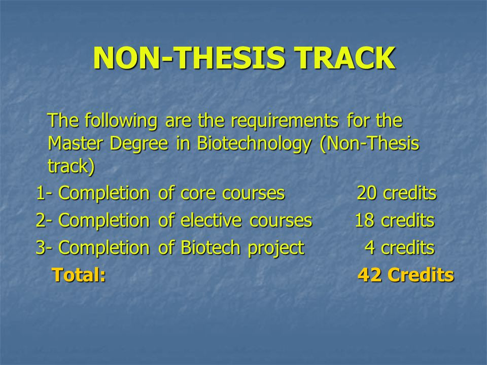 non thesis masters programs A total of 58 program(s) matched your criteria  master's degree, aerospace  engineering master of science degree (non-thesis program), engineering.