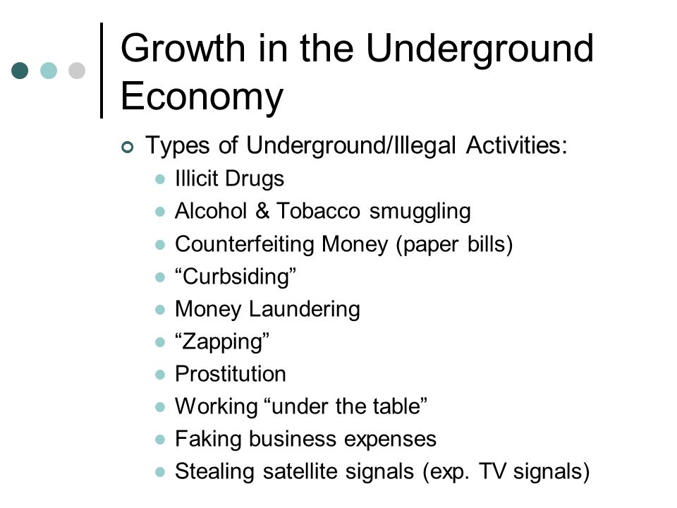 underground economy essay This essay will explore the underground economy in afghanistan, specifically, what is happening in the country concerning guns, drugs andshow more content fundamentally speaking, the taliban is an extremist group that twists the meaning of islamic teachings and oppresses anyone who may disagree.