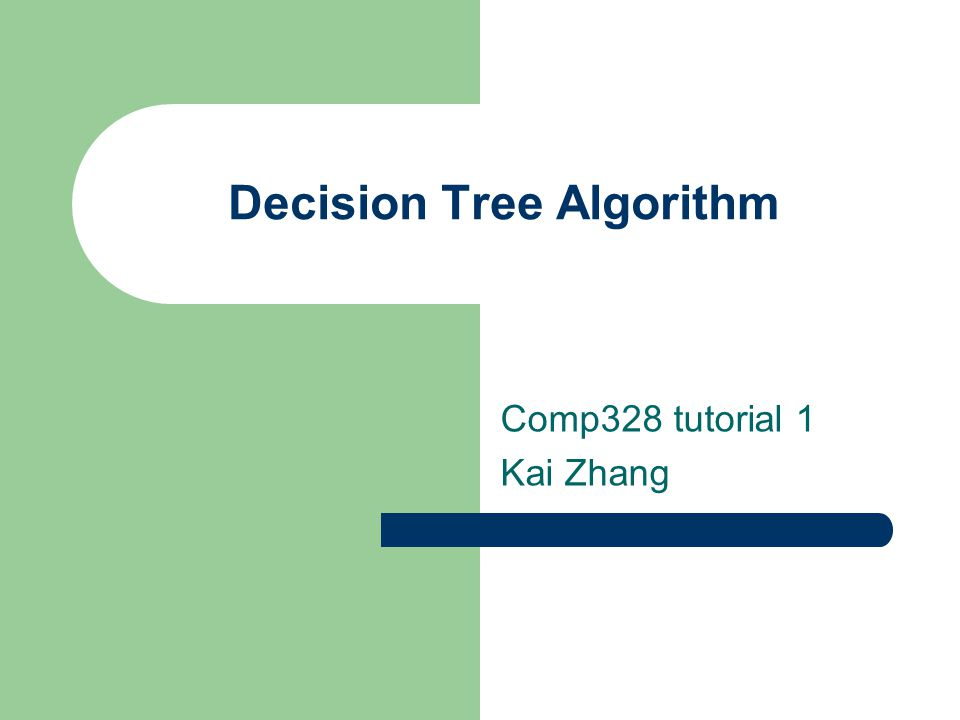 desicion tree algorithm An implementation of the id3 algorithm in c is available in id3 implementation in c weka also has a built in implementation of id3 decision tree algorithm you can follow the source code for the algorithm written in java (weka - subversion.