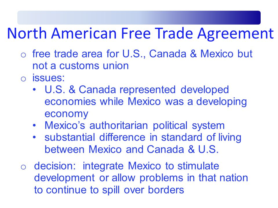 regional analysis north american free trade agreement B229 – north american free trade agreement (nafta) origin verification questionnaire regional value content – transaction value method.