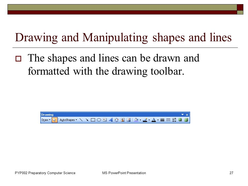 Drawing Lines With Powerpoint : Lab creating a presentation ppt video online download
