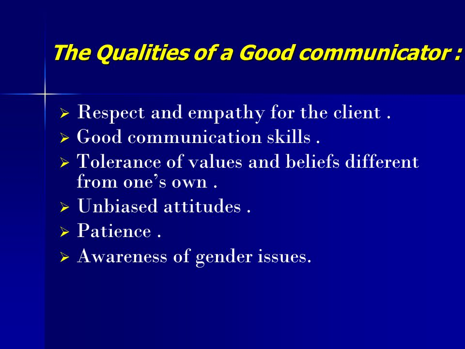 how to become a good communicator ppt