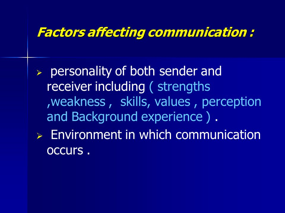 """factors affecting the communication skills of Factors affecting the reading skills of the third year beed- students in csu-cse process of language teaching, spoken language occupies an important place ballard says,"""" talking comes before writing, oral composition before written composition(dash, 2004, p165-166) speaking is the productive skill in the oral mode."""