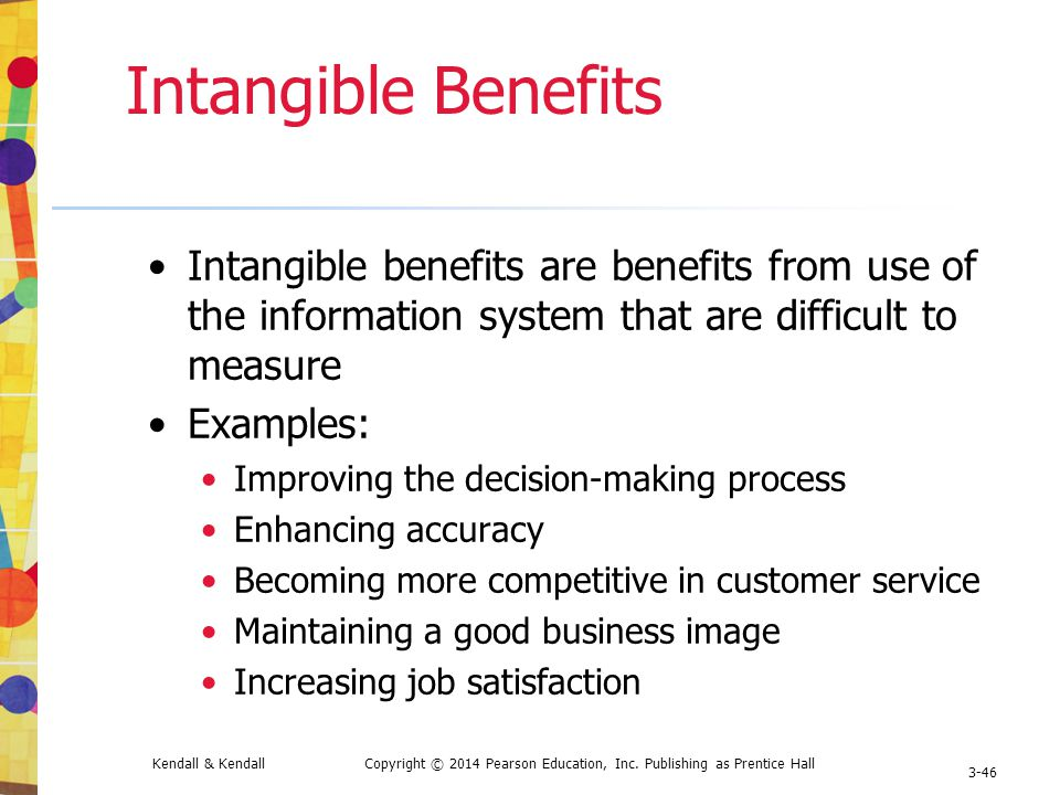 tangible and intangible benefits in project management Want proof that project management does add value to organizations check out a short video on researching the value of project management featuring fresh insights on both the tangible and intangible benefits of project management from principal investigators janice thomas, phd, and mark mullaly, pmp, and some of the study's.