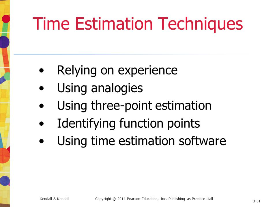 three point technique to estimate task Is your project's best estimation method agile or conventional accurate estimation can make use case point (ucp) this technique was of the estimate and the task.