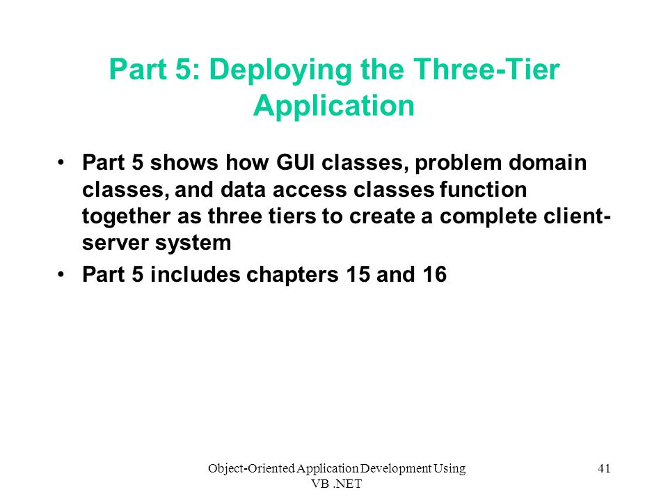 Part 5: Deploying the Three-Tier Application