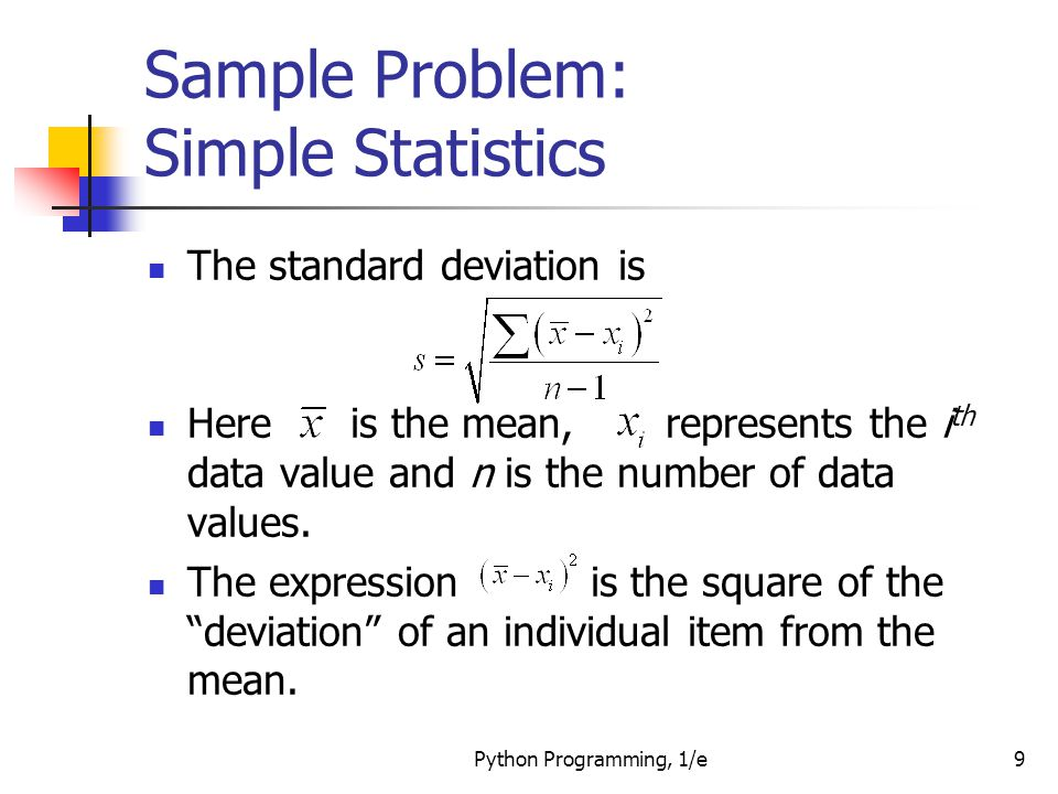 statistics problem sample We draw a random sample from population 1 and label the sample statistics it  yields with the subscript 1 without reference to the first sample we draw a  sample.