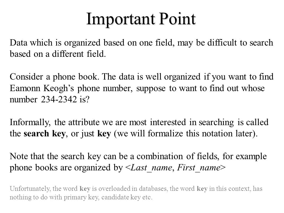 Chapter 8 File Organization And Indices. - Ppt Download