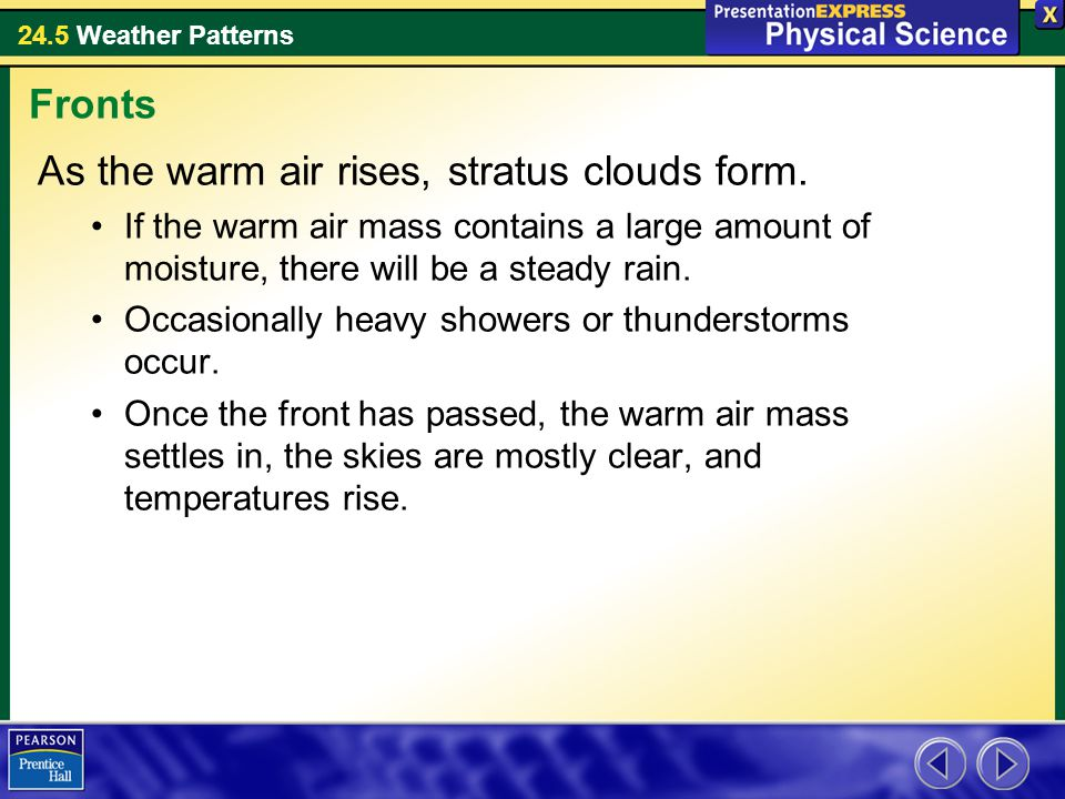 A cold front moving in brings stormy weather - ppt video online ...