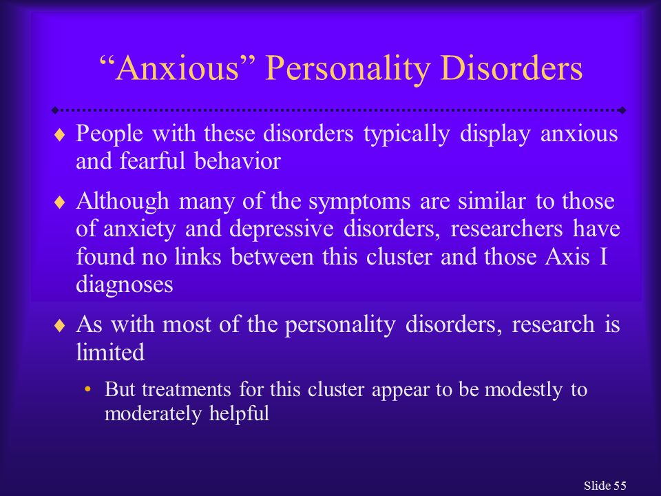 Avoidant Personality Disorder - Psych Central