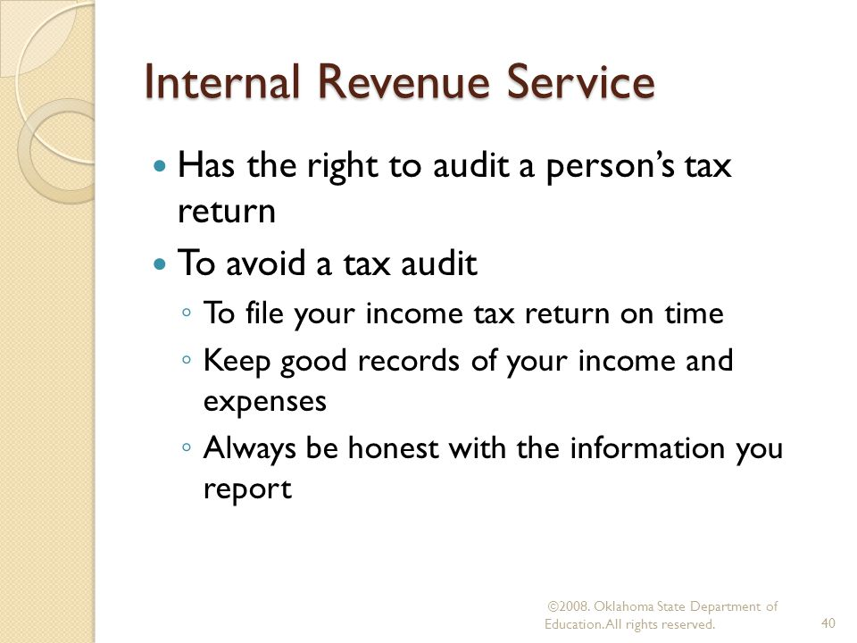 how to avoid a cra tax audit