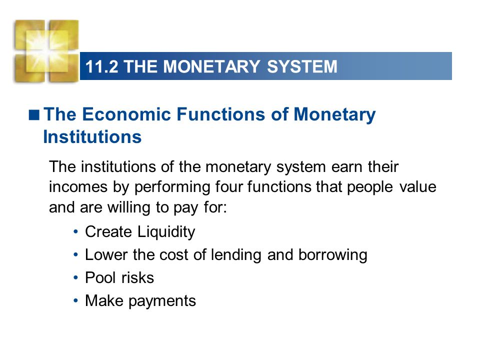 economic functions of money risk and The economic functions of banks include: credit risk (the chance that those who owe money to the bank will not repay it), and interest rate risk.