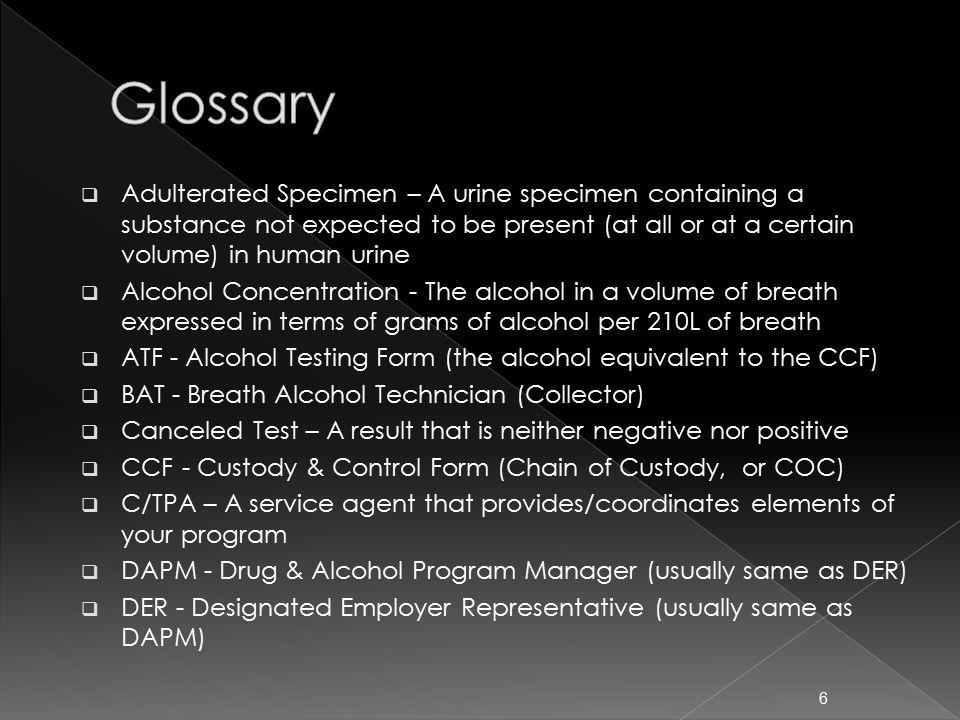 Negative Dilute Drug Test >> FTA Drug & Alcohol Program National Conference March, ppt download
