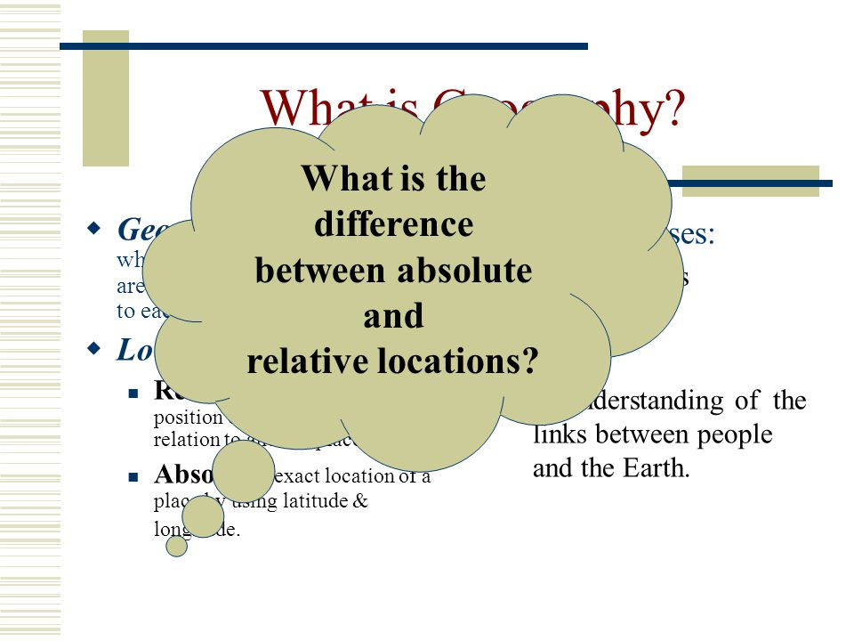 the differences between an absolute and a non absolute ruler and whether a state can function under  A) there is no difference  question: explain the difference between an absolute minimum and a local minimum a) there is no difference.