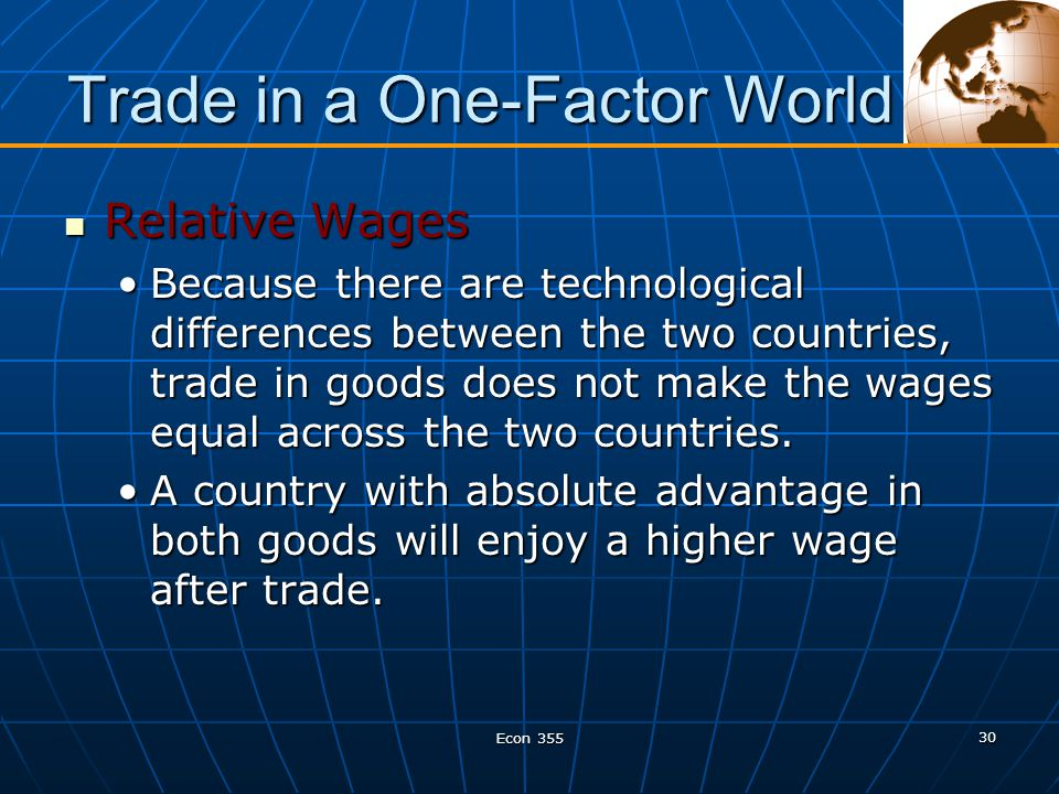 misconceptions about comparative advantage I made it up as a sort of compendium of popular misconceptions about  lester  thurow is a trained economist, who understands comparative advantage yet his .