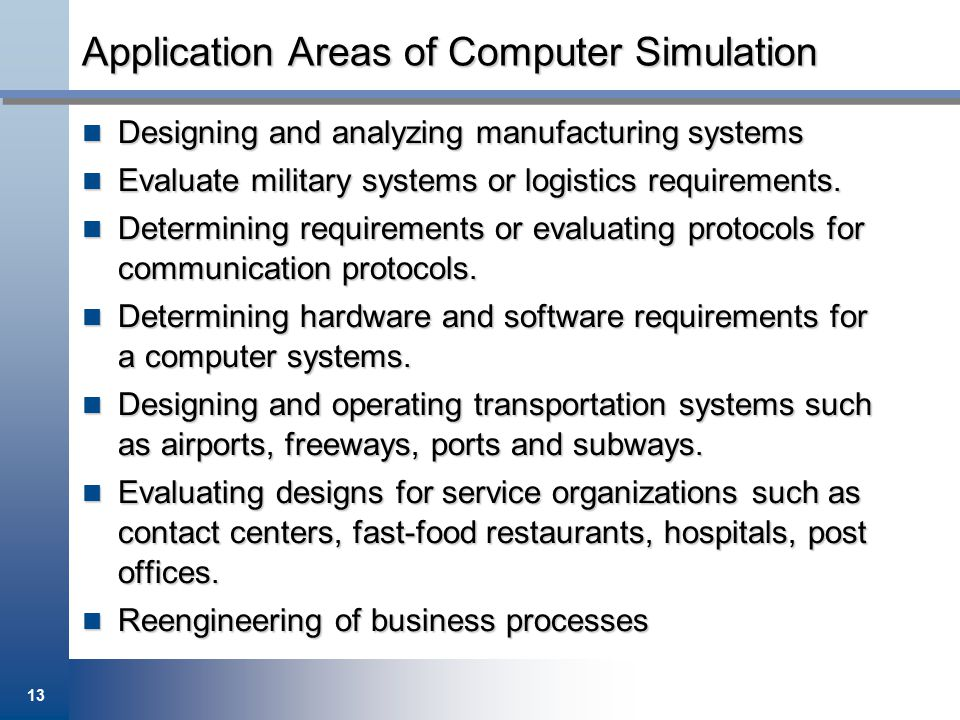 computer application in various areas of business Computers in industry link or integrate different technology fields in the broad area of computer-applications for industry the unique application of ict in business processes such as design, engineering, manufacturing, purchasing, physical distribution.
