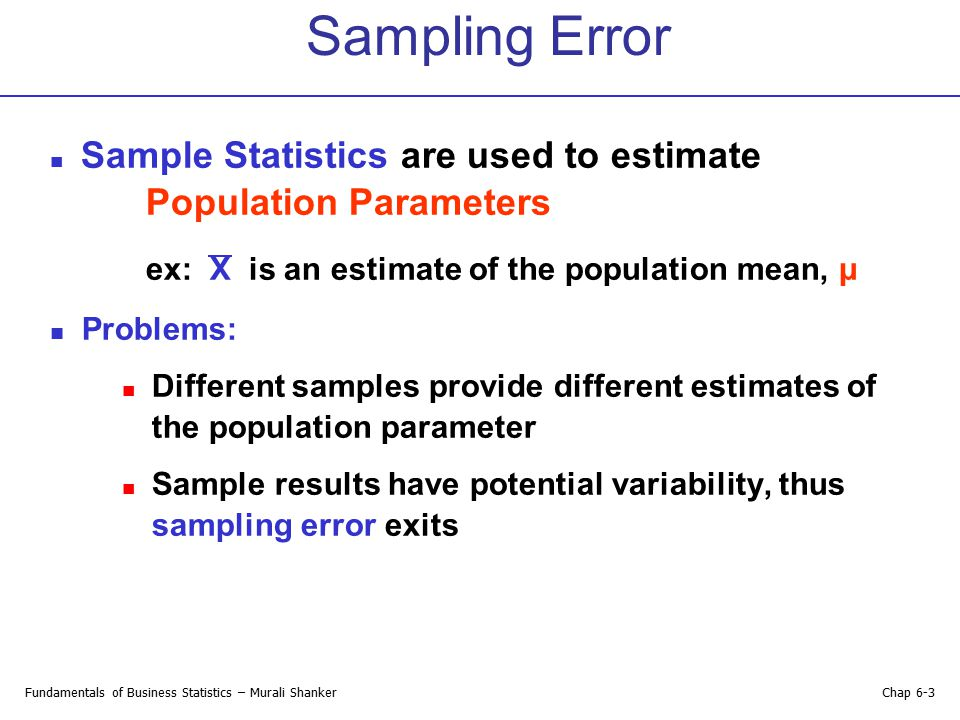 Chapter 6 Introduction to Sampling Distributions - ppt download