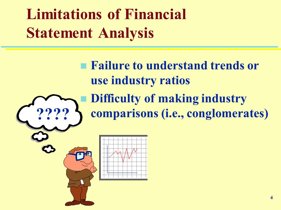 limitations of trend analysis Why is trend analysis important when examining financial statements by marquis codjia updated september 26, 2017.