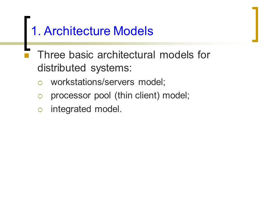 distributed computing system models pdf