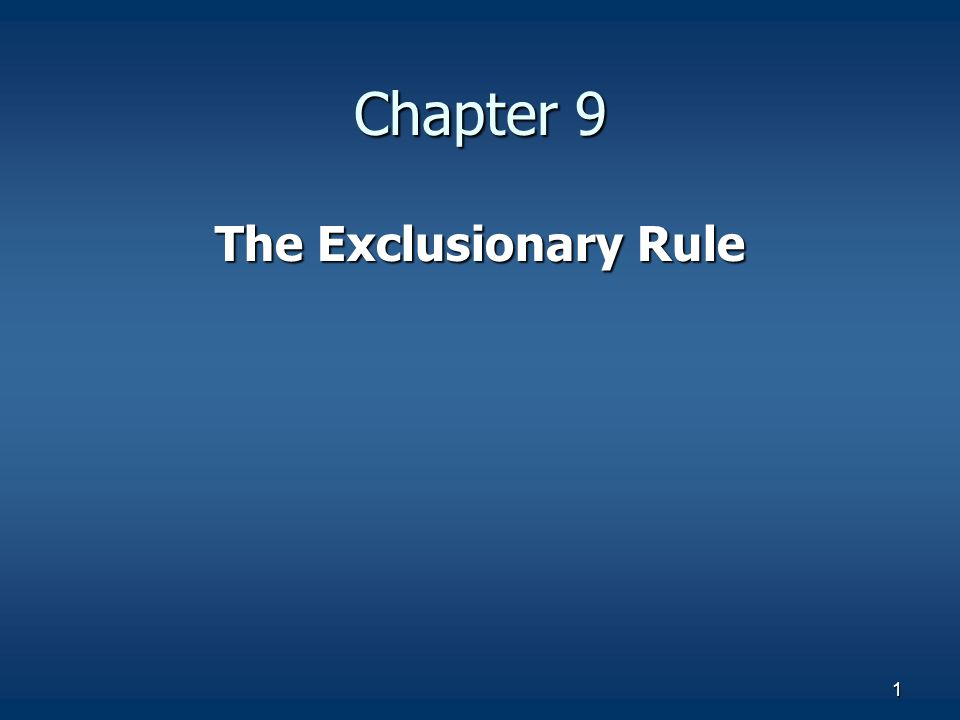 the exclusionary rule origin and implementation The exclusionary rule is available to a defendant in a criminal case as a remedy for illegal searches that violate the rights set forth in the fourth amendment.