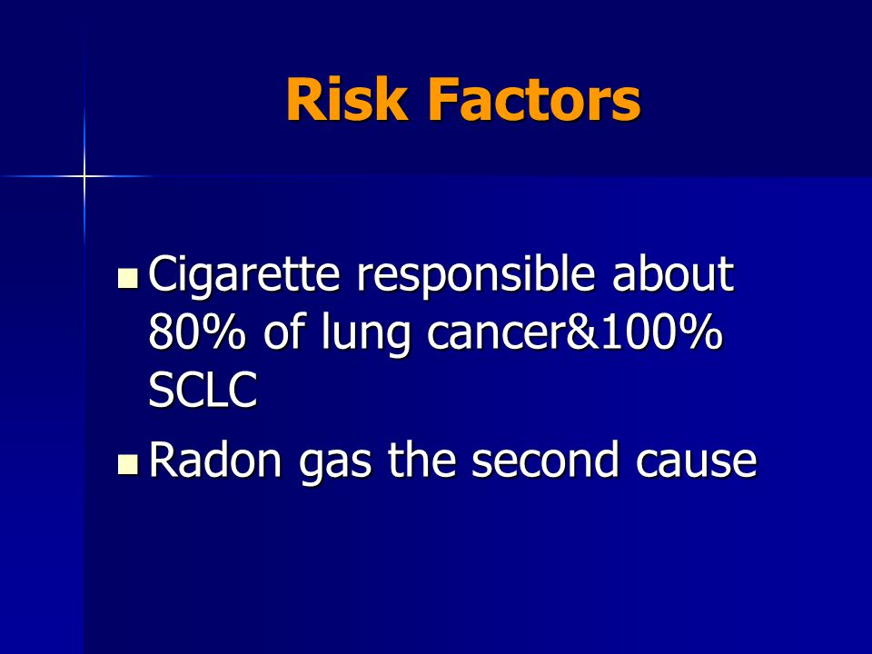 Role Of Radiation In Lung Cancer Ppt Download