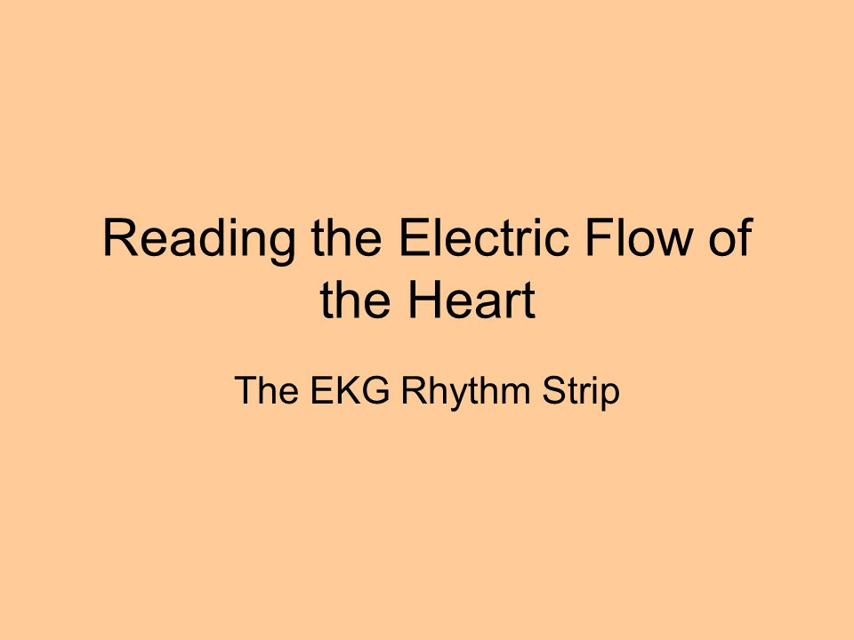 Reading the Electric Flow of the Heart