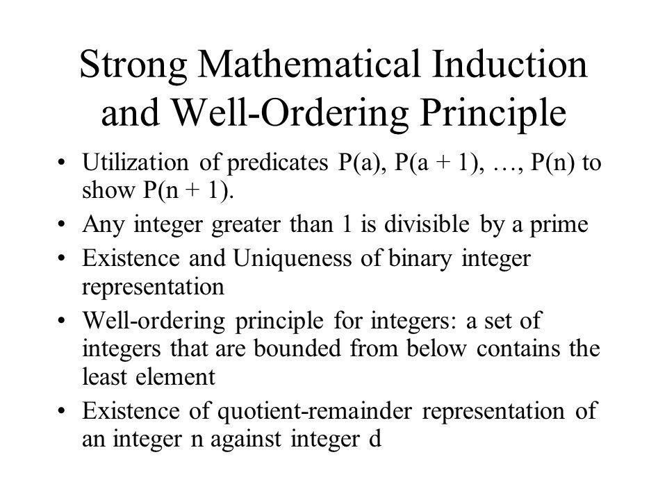 mathematical induction in discrete mathematics pdf