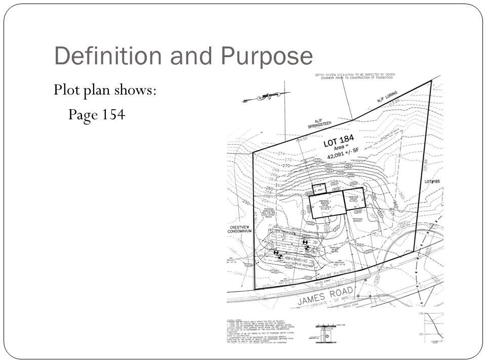 Chapter 8 plot plans ppt download for Plot plan design