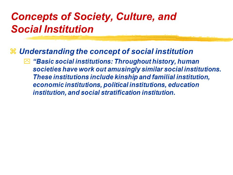 understanding human society What is sociology sociology is defined as the scientific study of human society and human interaction sociologists are interested in many different aspects of society such as culture, socialization, criminology, social inequality, social groups, organizations, social change, and social institutions (and the list could go on and on.