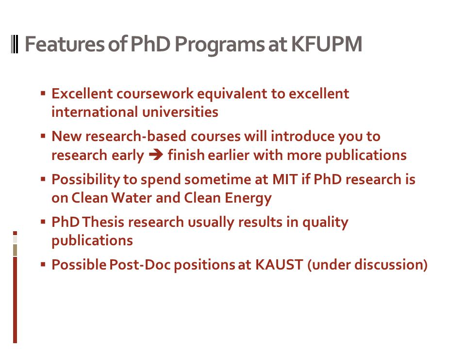 kfupm thesis New templates for thesis/dissertation the deanship of graduate studies is pleased to announce that new templates for  kfupm graduate school opens admission for.
