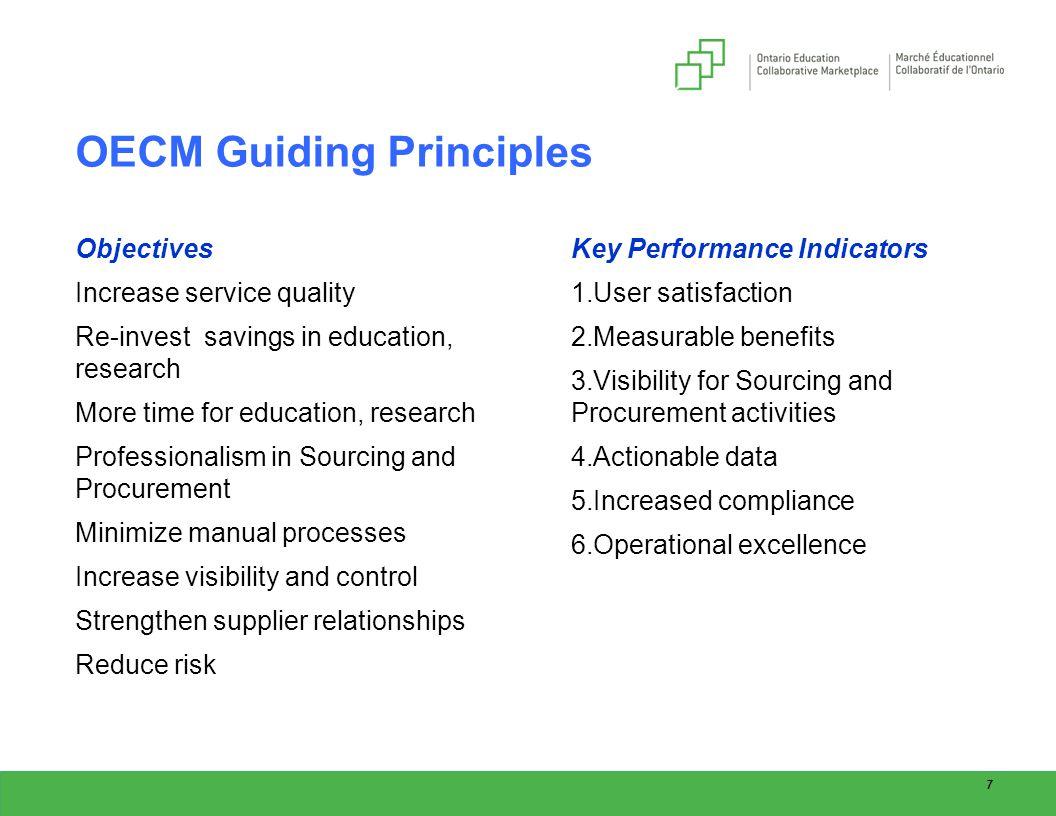 Procurment Data Acquisition Principles : Canadian public procurement council ppt download