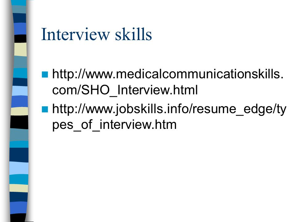 cv preparation  u0026 interview skills
