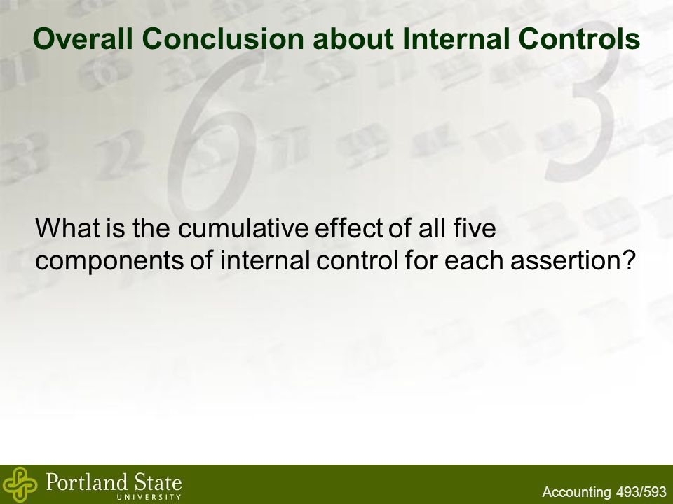 conclusion in internal control Inventory methods - conclusion by jccc.