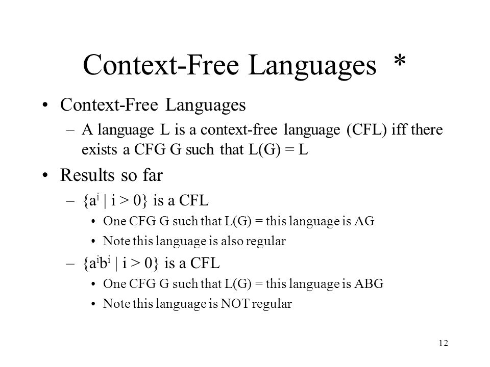 how to find context free grammar for a language