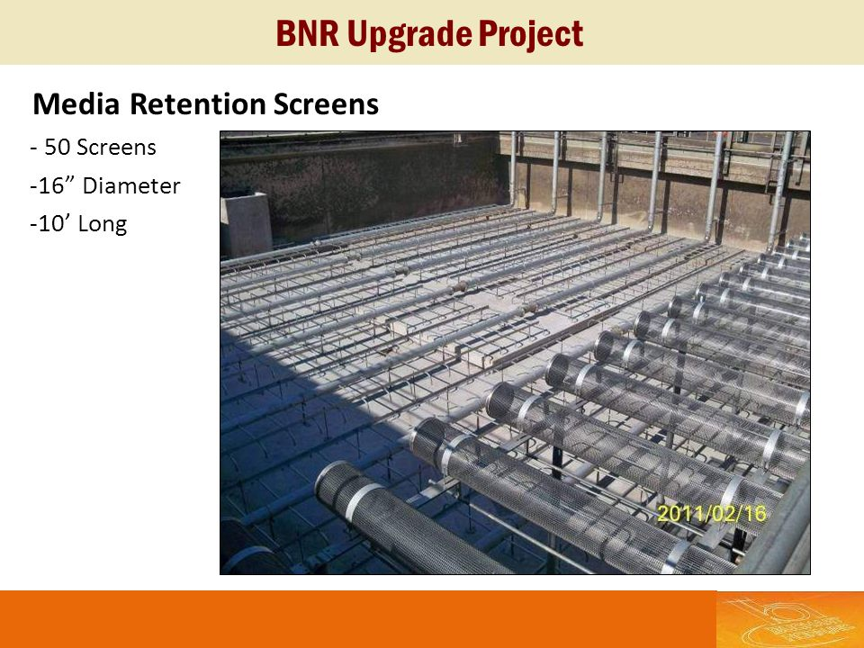 BNR Upgrade Project Media Retention Screens - 50 Screens -16 Diameter
