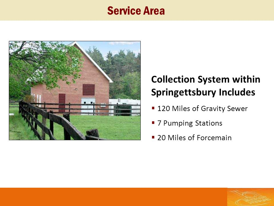 Service Area Collection System within Springettsbury Includes