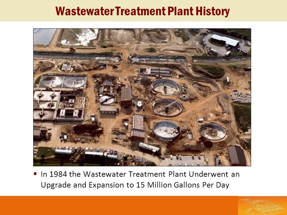 Wastewater Treatment Plant History