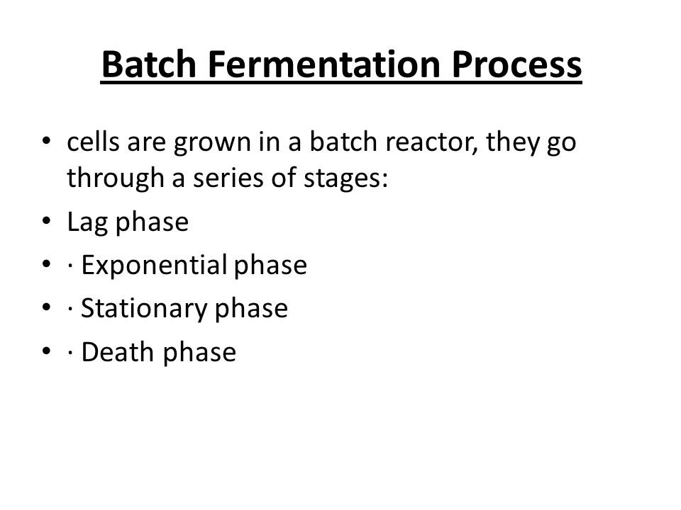 the process of fermentation through different Fermentation is essentially the same process the carbohydrate gets broken down, but instead of making pyruvate, the final product is a different molecule depending on the type of fermentation.