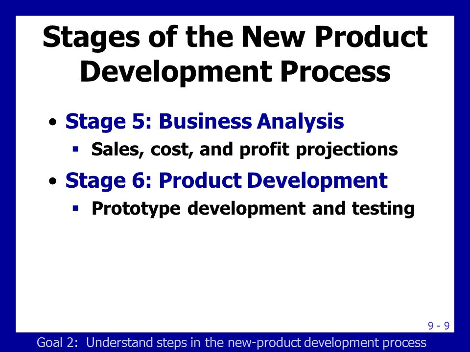 An overview of the commercialization stage in new product development process