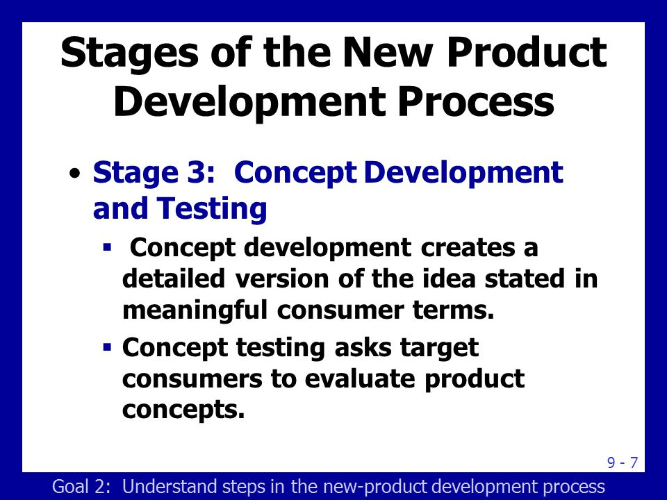 8 stages of new product development pdf